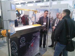 конвейерные оптические весы на выставка Mining Russia-2017